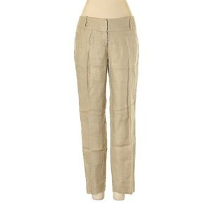 The Limited Khaki Linen Dress Pants Sz 2